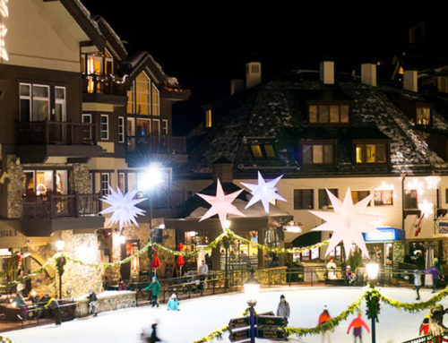 A family holiday christmas in Vail